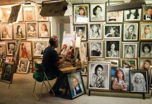 Portret laten schilderen 01